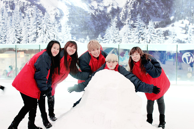 typicalben snow world genting group