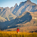 Cathedral Peak area at sunrise - Ukhahlamba Drakensberg National Park, South Africa by Jonohey