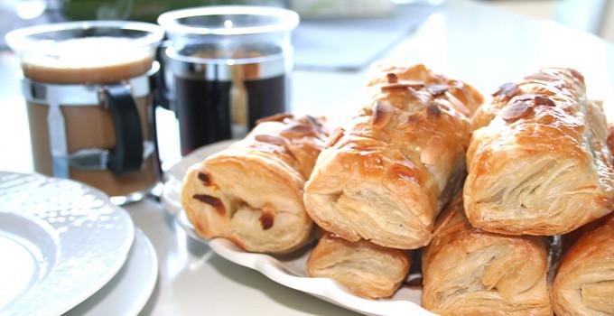 Franska pain au chocolate