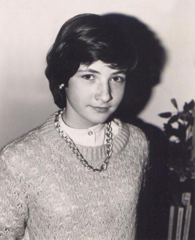 Catherine aged 10
