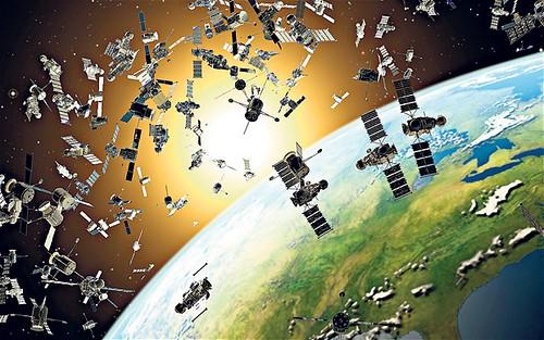 Boeing собирается уничтожать космический мусор при помощи газовых облаков