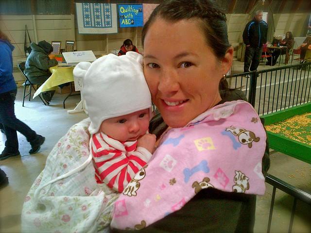 Mags & Mom - 2012 Brigden Fair