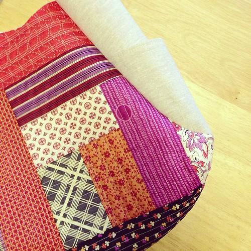 patchwork + linen #sewingsummit