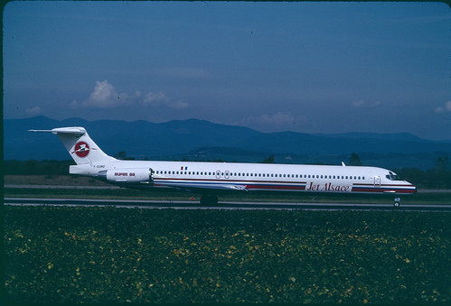 F-GGMD MD80 Jet Alsace