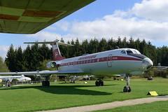 INTERFLUG Tupolew Tu-134A mit Kennung: DDR-SCK