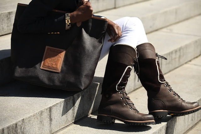 timberland boots bag