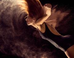 [フリー画像素材] 人物, 女性, 髪がなびく, レオタード ID:201210141800