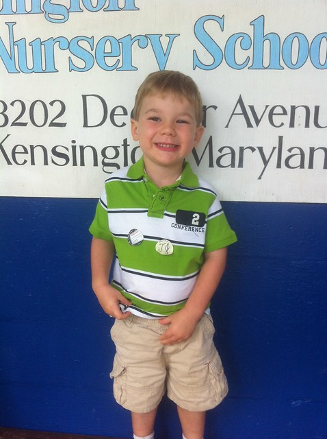 Wiliam - First day of school 2012