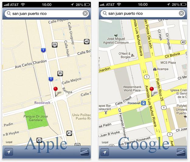 ClassicMap: Los mapas de Apple y Google en un mismo app