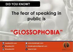 Glossophobia!