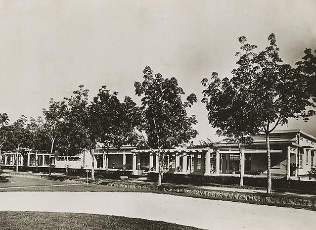 Hôpital psychiatrique de Cochinchine à Bien Hoa. Pavillon pour Européens aliénés 1931 - Bệnh viện Tâm thần Biên Hòa