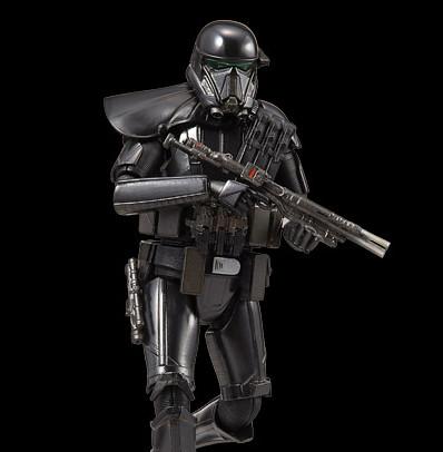 《星際大戰外傳:俠盜一號》新軍種「死亡兵」DEATH TROOPER  組裝模型作品