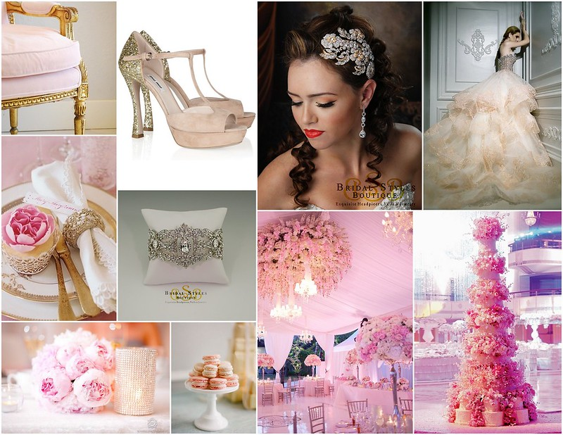 Pink Glam Wedding Inspiration
