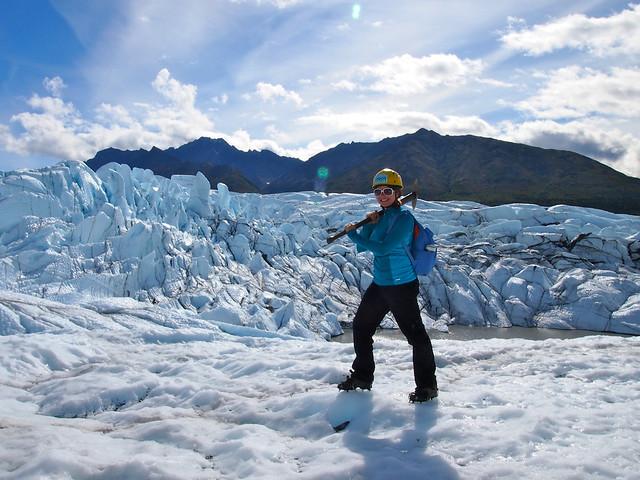 Matanuska Glacier hiking