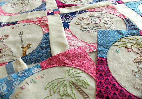Diamond Jubilee Quilt Blocks