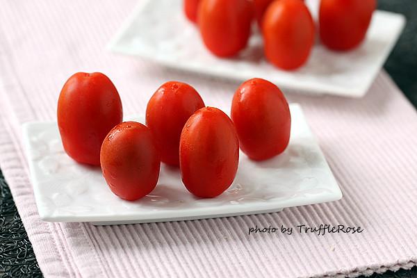 Mozzarella。聖莫札諾番茄沙拉-120831