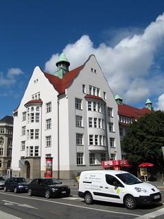 Jugendstilgebäude in Chemnitz