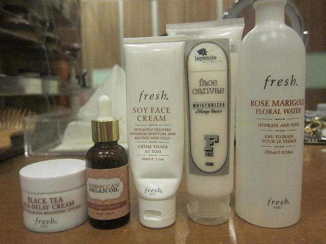moisturizers