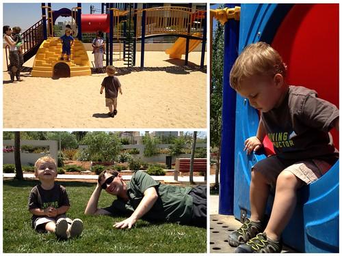 Found a playground!