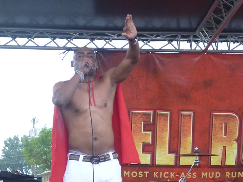 Coolio at Hell Run Chicago