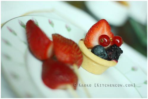 The Rose Veranda - Fruit tart!