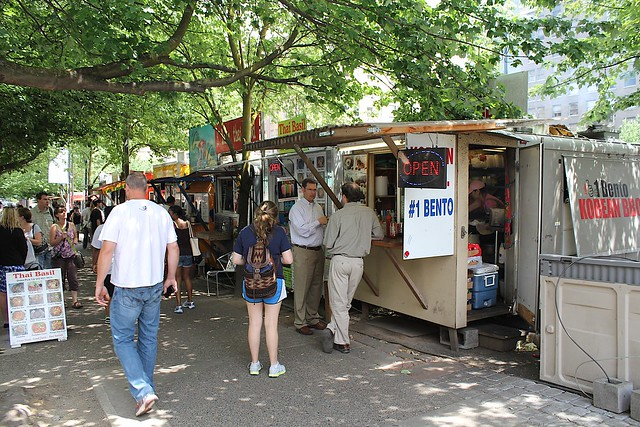 Portland Oregon USA Food Trucks