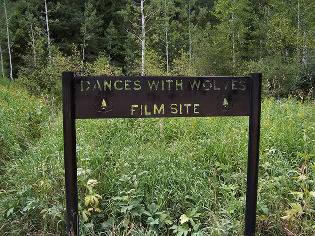 Setting of dances with wolves