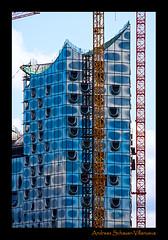 Elbphilharmonie im Bau....