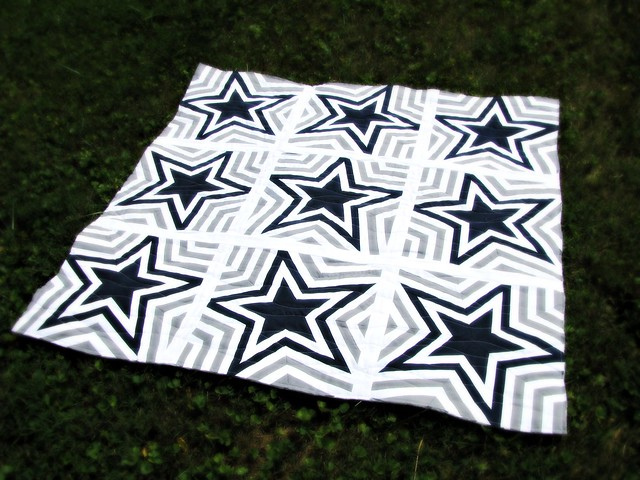 Dallas Cowboys Quilt Unbound