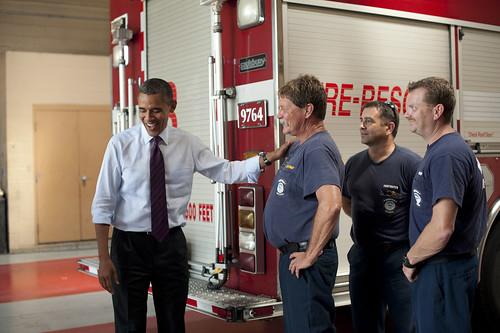Barack Obama in Norfolk - September 4th