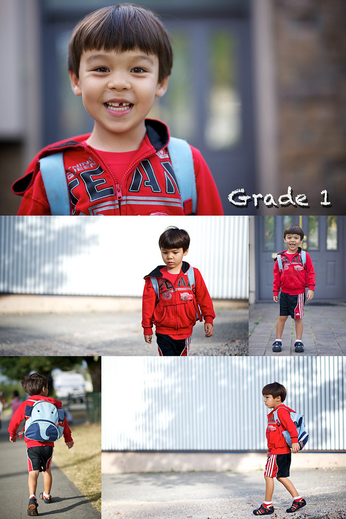 Grade 1 montage