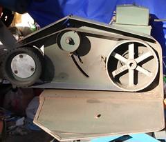 Side view of grinder