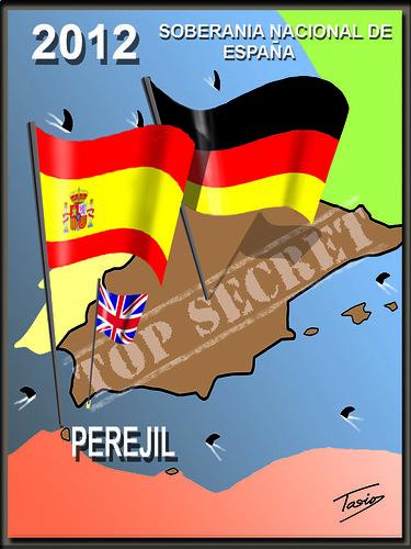 Mapa de España 2012