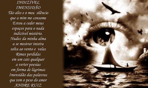 INDIZÍVEL IMENSIDÃO by amigos do poeta