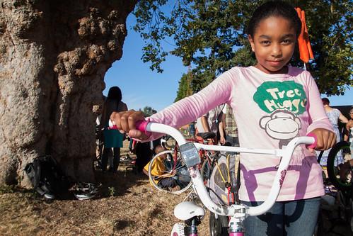 Bike Repair Hub Ribbon-Cutting Celebration 9.5.12