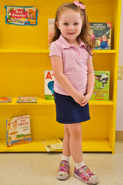 Emmy's First Day of Preschool | 09/05/12