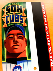 CTA Card sox cubs