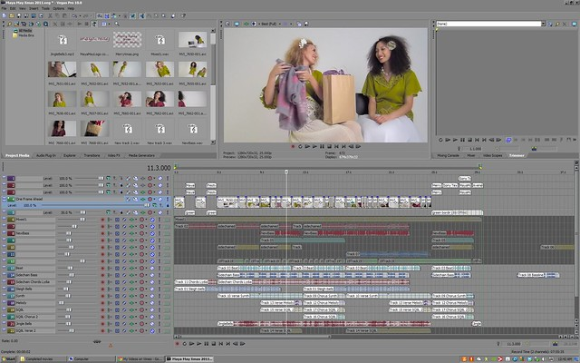 Maya May Christmas & January 2012 videos