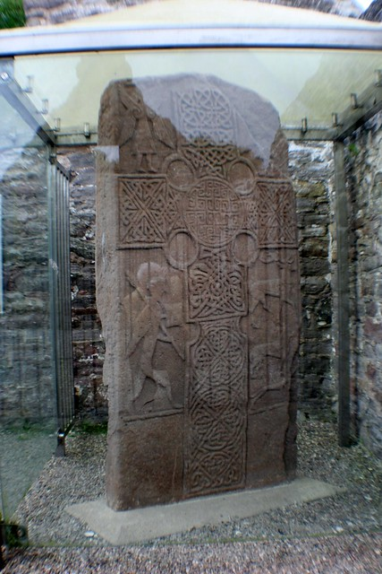 Carved Pictish Stone, Eassie
