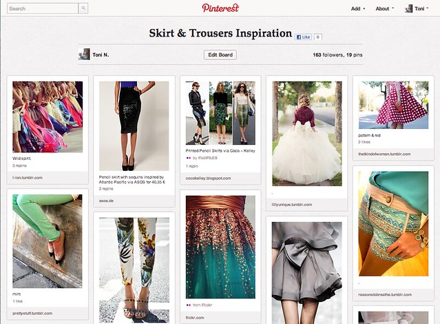 Pinterest Toni-in-Viaggio Skirt & Trousers Inspiration