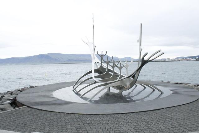 The Sun Voyager Solfar Viajero del Sol Reikiavik Islandia Iceland