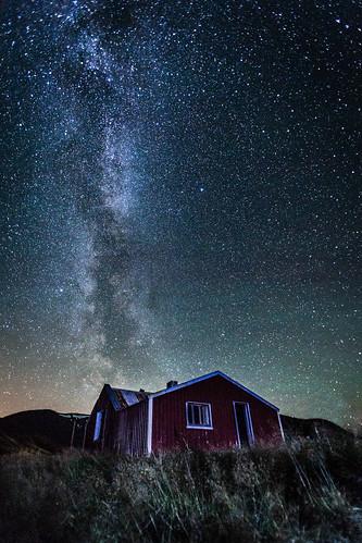 Milky Way in Skorradalur