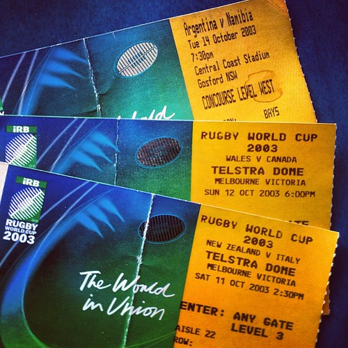 RUGBY WORLD CUP TICKETS