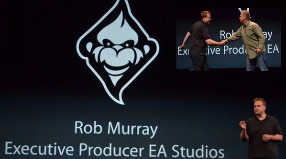 Роб Мюрей EA