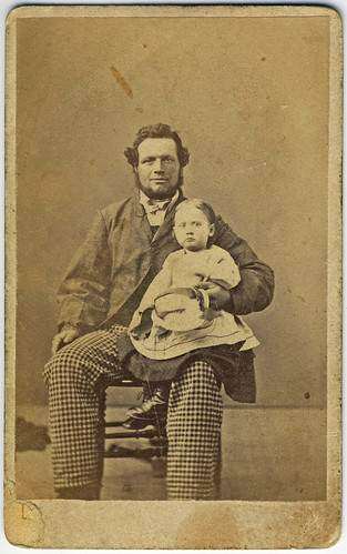 Father and Child CDV