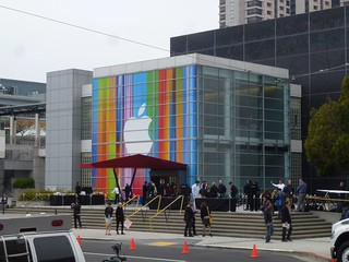 Apple iPhone 5 launch day - the world's media descends