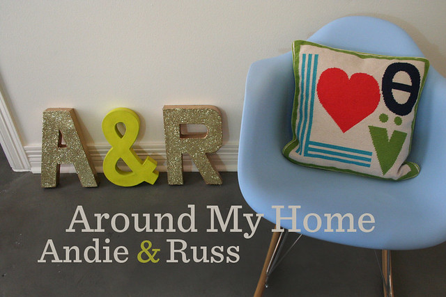 AROUND MY HOME-ANDIEandRUSS