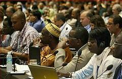 2012年9月9日出席世界自然保育聯盟世界保育大會的代表們(照片由IUCN提供)