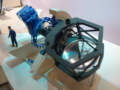 SOFIA - Nasmyth-Teleskop