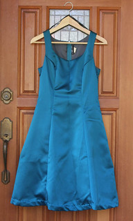 satin party dress (for swap)